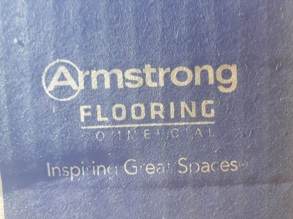 1035 sq ft (NEW) Armstrong Imperial VCT vinyl flooring
