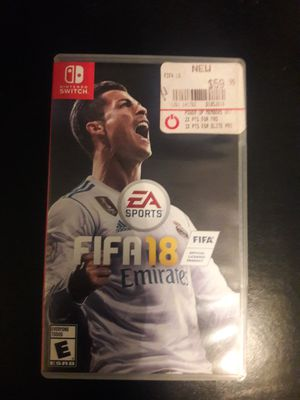Fifa 18 Nintendo Switch for Sale in Fontana, CA