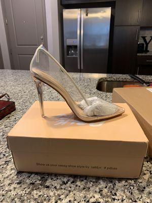 Size 8 clear heels for Sale in Atlanta, GA