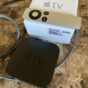 Apple TV 3rd Generation With Original Box And Remote for Sale in Seattle, WA