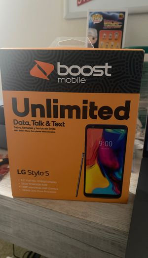 LG stylo 5 boost mobile for Sale in Brownstown Charter Township, MI