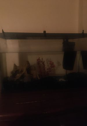 fish tank with all accessories for Sale in Allentown, PA