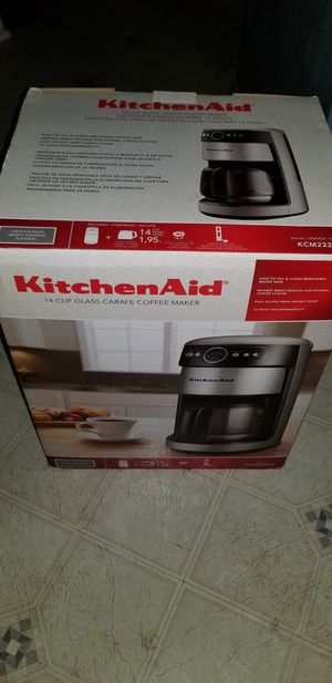 KitchenAid 14 Cup Coffeemaker New in box for Sale in Frederick, MD