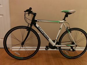 If your ready to hit the Bike Path and ride like a Gazelle this is for you. Schwinn 1200 Aluminum Frame. Ready to ride! for Sale in Fayetteville, GA