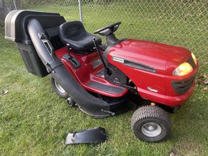 Mulching Auto Trans Riding Lawn Mower with Bagger System for Sale in Lombard, IL