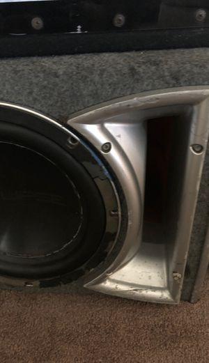"Rockford fosgate 12""inch subwoofer box for Sale in Castro Valley, CA"