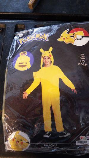 Pokemon Pikachu Kids Costume for Sale in San Fernando, CA