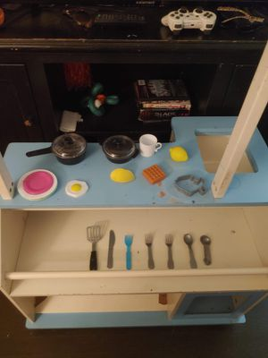 Wooden Kitchen Playset for Sale in Saint Joseph, MO