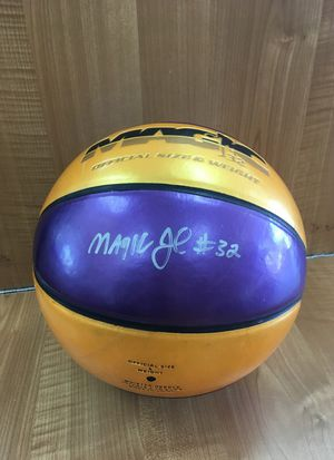 Basketball signed by magic Johnson for Sale in West Covina, CA