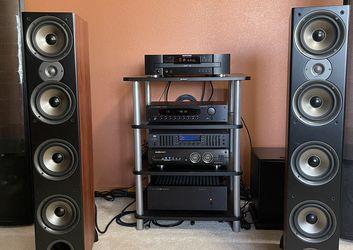 Polk Audio Monitor 70 Series II Tower Speaker (Cherry) for Sale in Everett,  WA