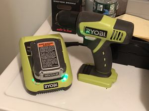 Ryobi 12v Lithium Drill w/ Battery and Charger for Sale in Old Bridge Township, NJ