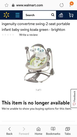 Ingenuity convertme swing 2 seat for Sale in Covina, CA
