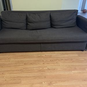 Ikea FRIHETEN Brown Sleeper sofa for Sale in Dallas, GA