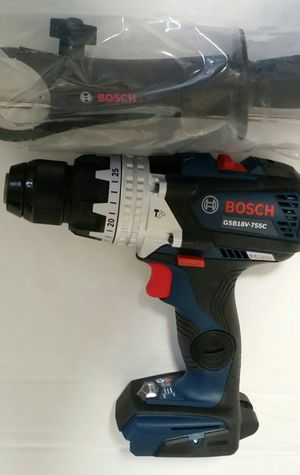 "New Bosch GSB18V-755C 18V EC Brushless Brute Tough 1/2 In. Hammer Drill/Driver. ""TOOL ONLY "" for Sale in San Jose, CA"