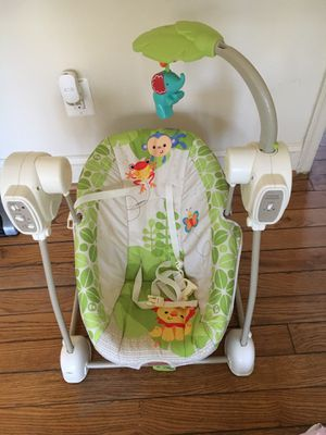 Fisher Price Musical Baby Swing Seat for Sale in Arlington, VA