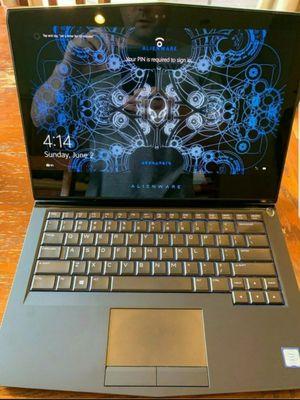 Alienware 13 R3 oled i7 7700 gtx 1060 256gb ssd 16gb ram for Sale in Orlando, FL