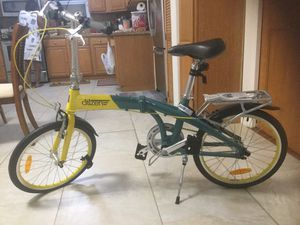 Citizen folding bike yellow and gray for Sale in Biscayne Park, FL