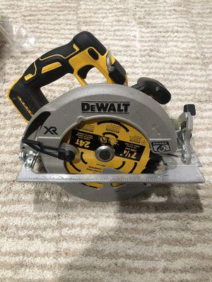 "Dewalt 7 1/4"" Circular Saw DCS570 Cordless Brushless 20v Max w/ Break. for Sale in Summit, NJ"