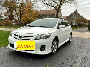 🎅🏼Well maintained sport sedan Toyota Corolla $1000🎅🏼 for Sale in Citrus Heights, CA