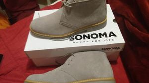 Sonoma, Eldridge style, Leather collection. Gray. Mens shoes brand new never worn. for Sale in Conyers, GA