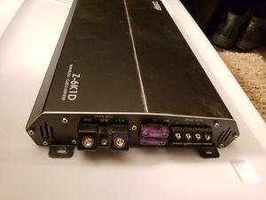 Car audio amplifier ELITE CLASS D MONOBLOCK AMPLIFIER 6000 WATTS for Sale in Kent, WA