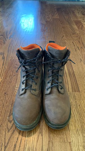 """MEN'S TIMBERLAND PRO® RESISTOR 6"""" COMP TOE WORK BOOTS for Sale in Charleston, SC"""