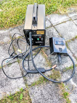 90 Amp Flux Core Welder and Helmet for Sale in Boca Raton, FL