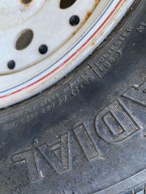 Tire from boat trailer for Sale in Highland, CA
