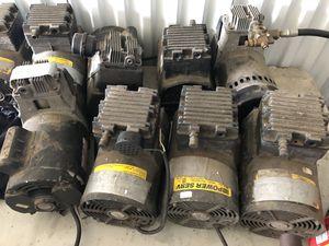 Coins Air & vacuum pump motors for Sale in Baltimore, MD