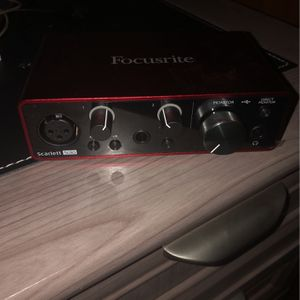Focusrite Music Software for Sale in Waco, TX
