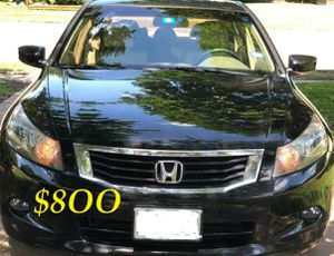 ✅✅📗💲8OO URGENT I sell my family car 2OO9 Honda Accord Sedan EX-L V6 Super cute and clean in and out.✅✅📗 for Sale in Richmond, VA