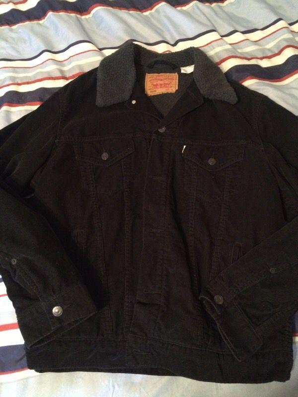 Levi Corduroy/Lamb Interior jacket (Large)