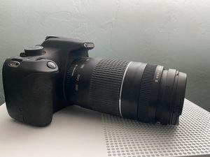 Canon t5 rebel camera w/ lens, extra batteries, etc for Sale in Chula Vista, CA