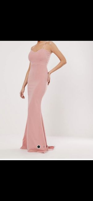 Missguided Blush Pink Sweetheart Long Dress for Sale in Las Vegas, NV