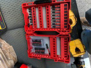 Milwaukee bit box for Sale in Tamarac, FL