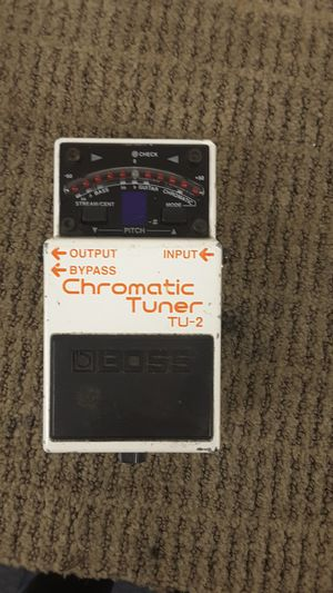 Boss chromatic tuner pedal for Sale in Chicago, IL