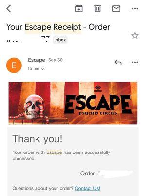 2019 ESCAPE 2 SATURDAY WRISTBANDS for Sale in Baldwin Park, CA