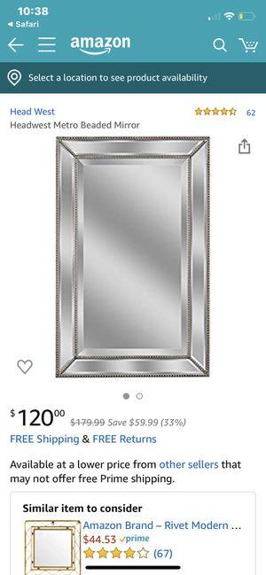 Beaded mirror for Sale in Chula Vista, CA