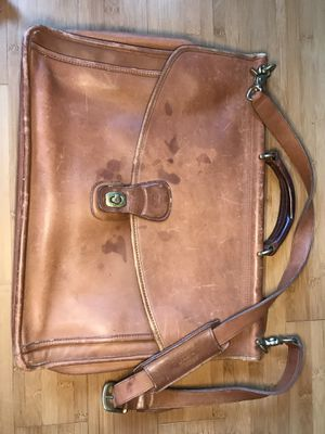 Coach Real Leather Side Bag for Sale in San Diego, CA