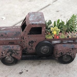 Vintage Truck With Real Succulents for Sale in Stockton, CA