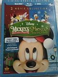 Unopened 2 movie collection 3 disc special Mickey's Once Upon a Christmas and Mickey's twice Upon a Christmas Blu-ray DVD digital for Sale in Orlando, FL