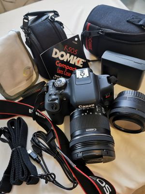 Canon T6i DSLR Camera set for Sale in Hasbrouck Heights, NJ