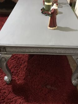 Ornate French provincial coffee table for Sale in Mount Pleasant,  PA