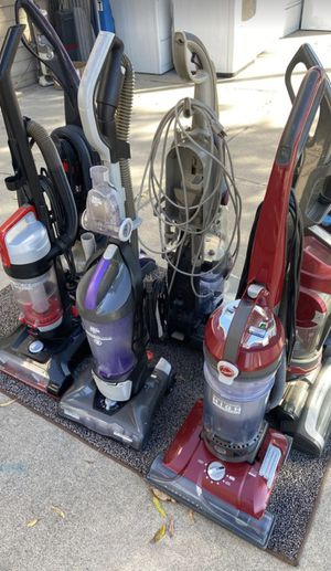 WE ARE OPEN Lots of vacuums for sale new and used dirt devil Hoover shark Bissell Dyson for Sale in Stockton, CA