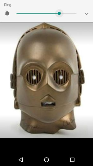 Used, Don Post Vintage C3PO rubber Mask for Sale for sale  Concord, CA