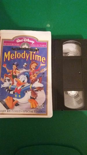 Disney's MELODY TIME 50th Anniversary Masterpiece Collection (VHS) for Sale in Lewisville, TX