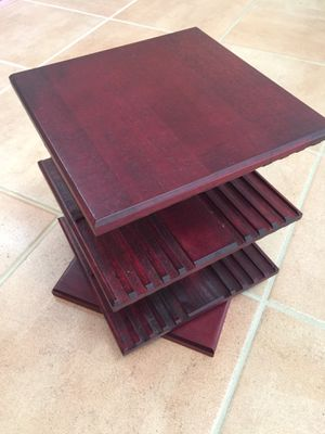 Cherry wood CD organizer for Sale in FL, US