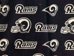 Los Angeles Rams Cotton Fabric for Sale in Redlands, CA