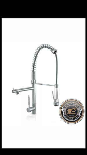 "29"" Brushed Nickel Tall Pull Down Kitchen Faucet - Single Hole / Handle... CHECK OUT MY PAGE FOR MORE ITEMS for Sale in Baltimore, MD"