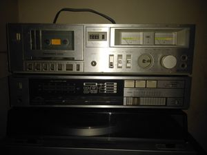 Silver Marshall Complete Music System with speakers, Module component system, Technics Stereo system for Sale in Detroit, MI